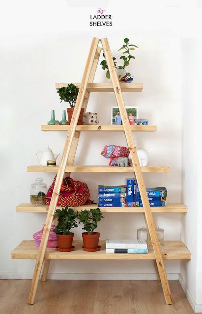 Φτιάξτε μόνοι σας μια απίθανη DIY - Σκαλοραφιέρα