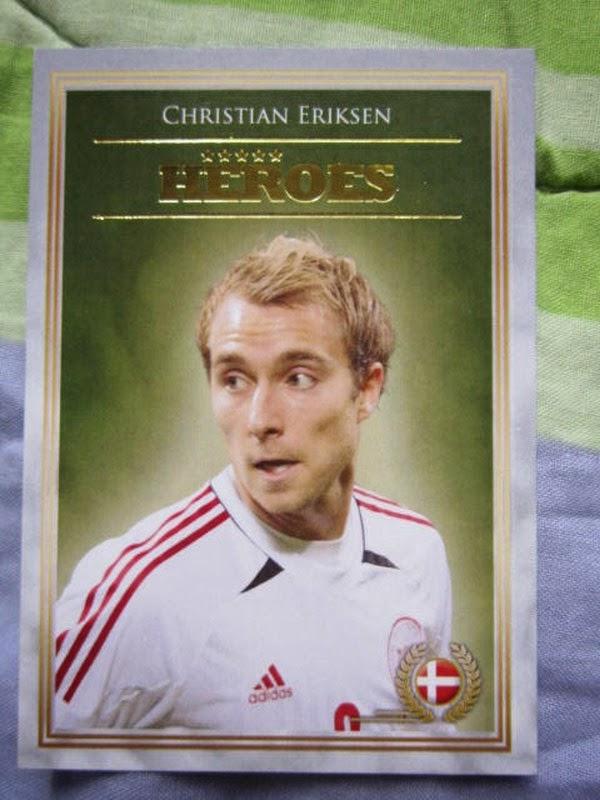 Futera Series 4 Printed Cards Heroes Christian Eriksen BPL Tottenham Hotspurs Southampton White Hart Lane Premier League star Danish Denmark