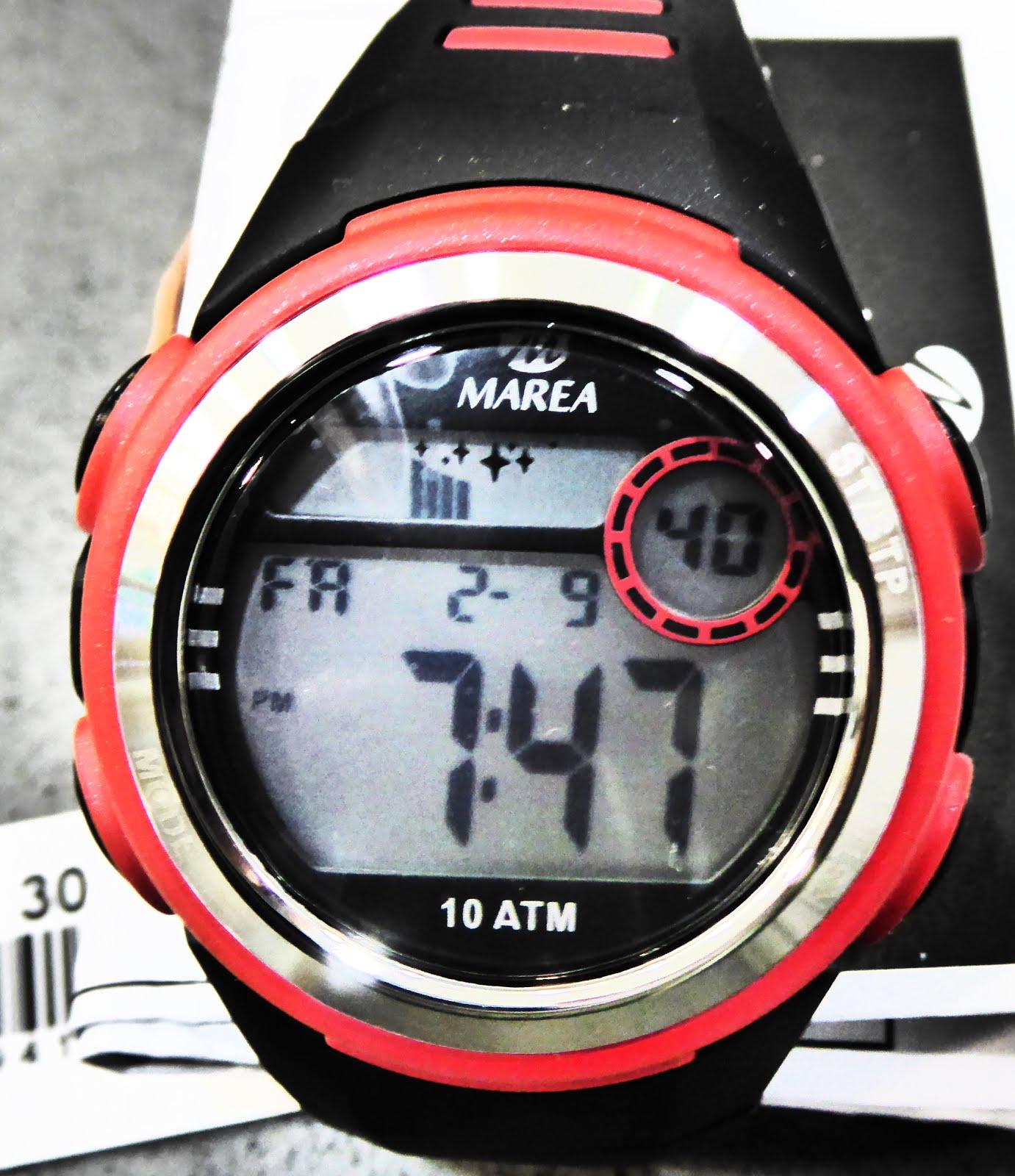 Reloj digital tamaño cadete