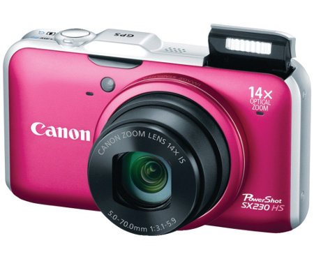 Canon PowerShot SX220 HS Digital Camera