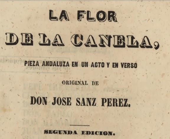 El Anacronico: La Flor de la Canela.