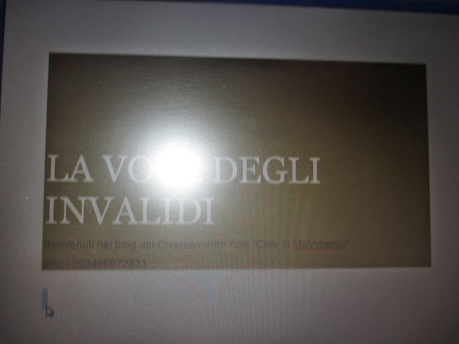Newsletter - La Voce Degli Invalidi