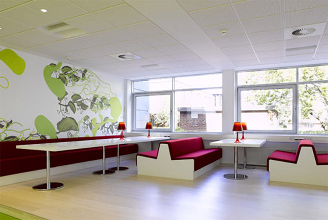 office decoration physiological effects of interior design office