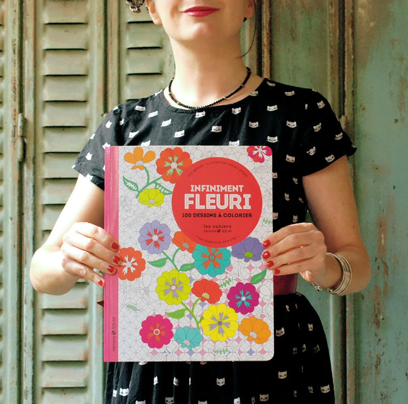 infiniment fleuri_ livre coloriage fleurs