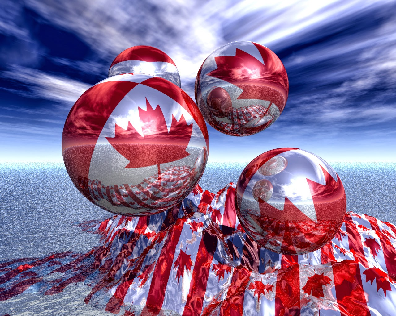 Canadian flag wallpapers national flag of canada hd wallpapers pictures or images - Canada flag 3d wallpaper ...