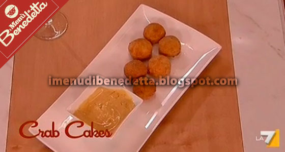 crab cakes ricetta di benedetta parodi