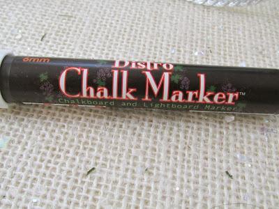 Bistro chalk marker