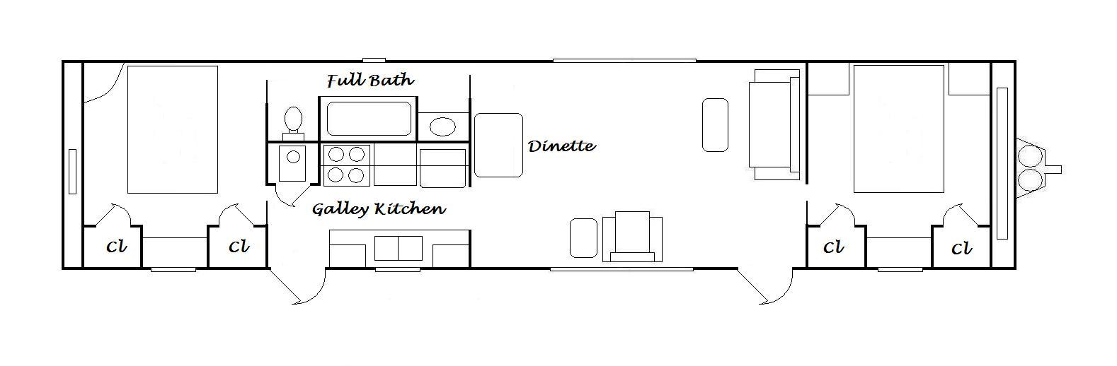 1 Bedroom Trailer Floor Plans Joy Studio Design Gallery Best Design