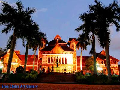 Sree Chitra Art Gallery in Trivandrum