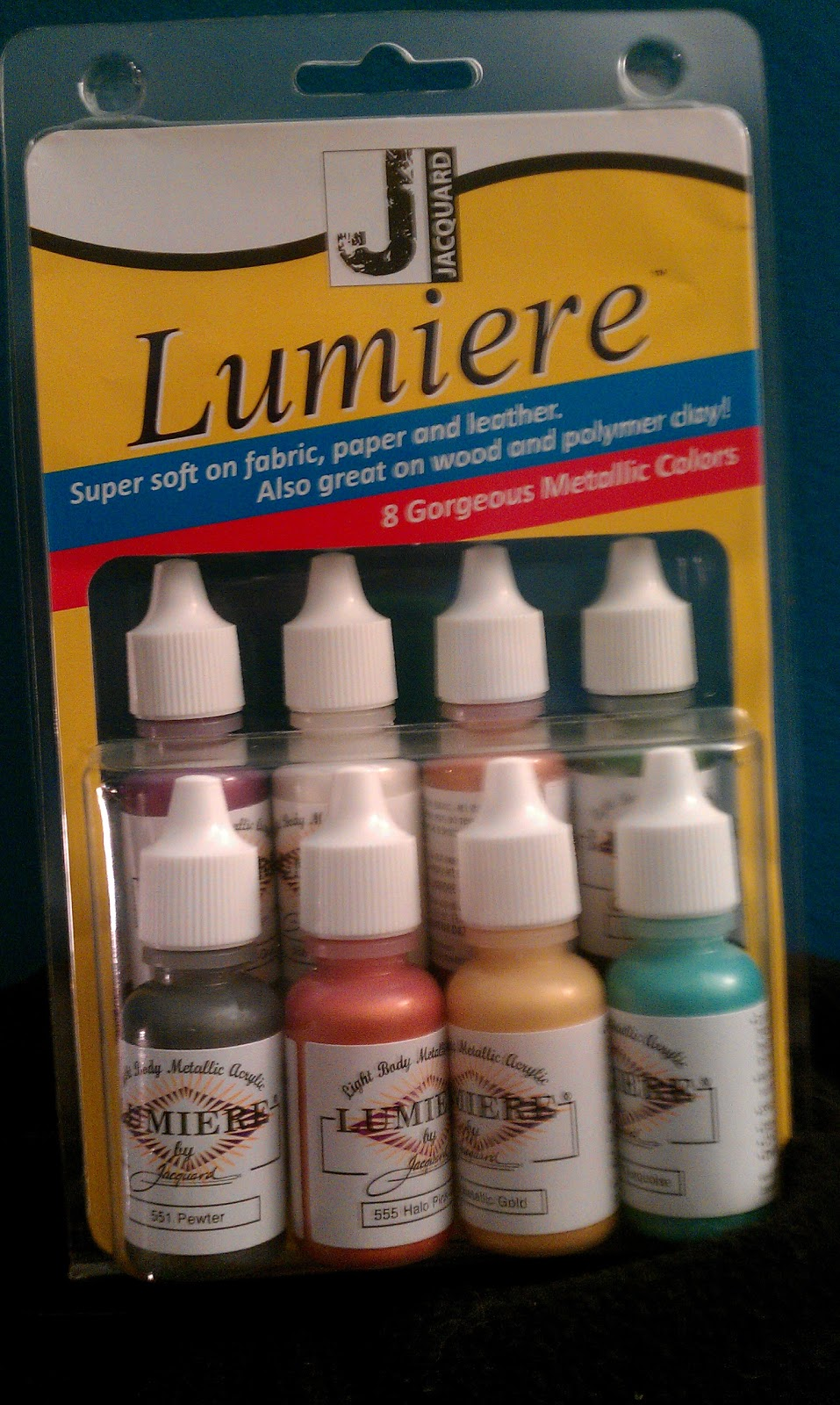 How To Use Lumiere Paint On Canvas Fabric