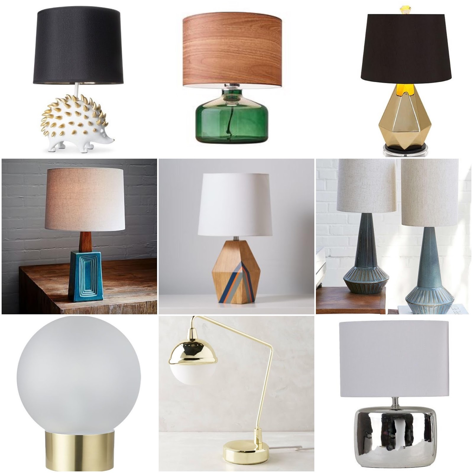 Epic Friday Finds Table Lamps