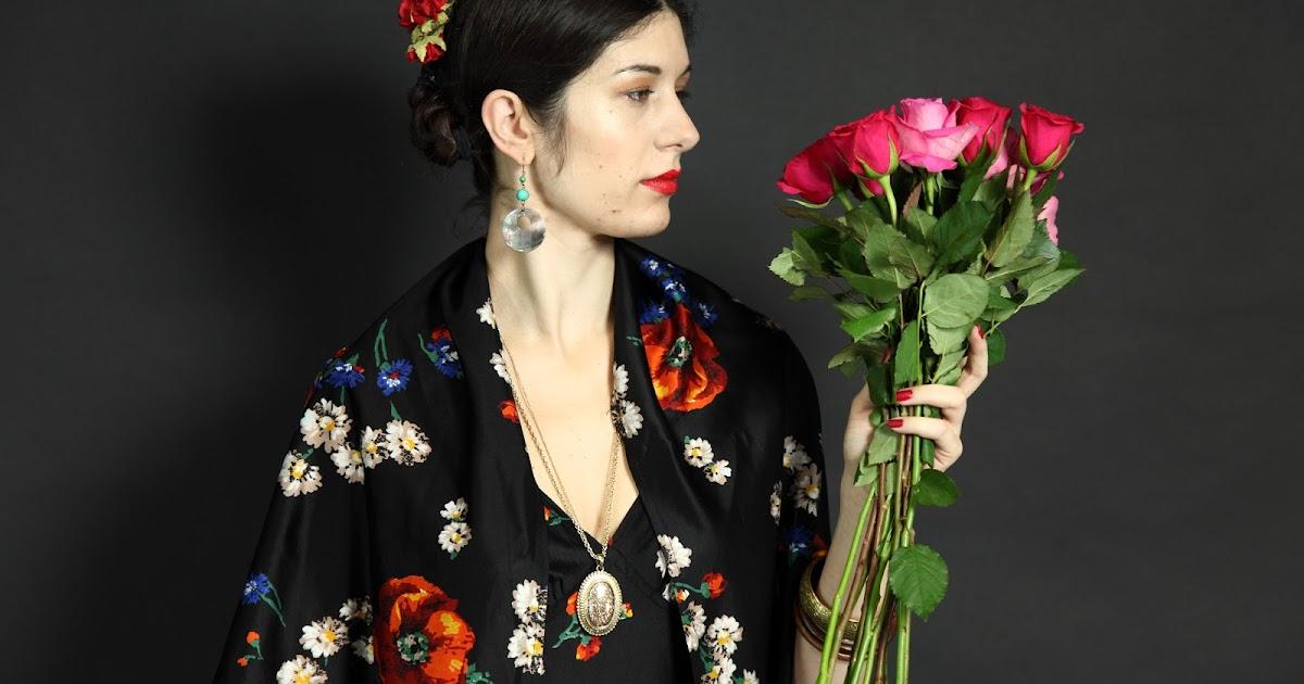 fashion  u0026 lifestyle  frida kahlo inspired shoot