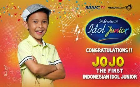 Jojo The First Indonesian Idol Junior