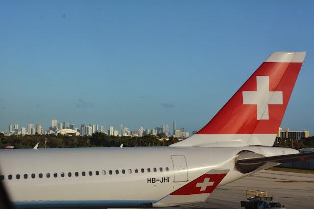 Swiss Miami skyline