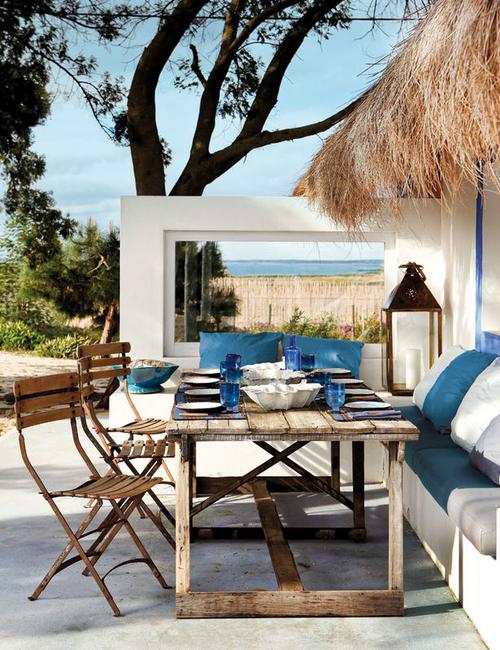 mesa ao ar livre, Decorar a casa de forma simples, decoração com amor.