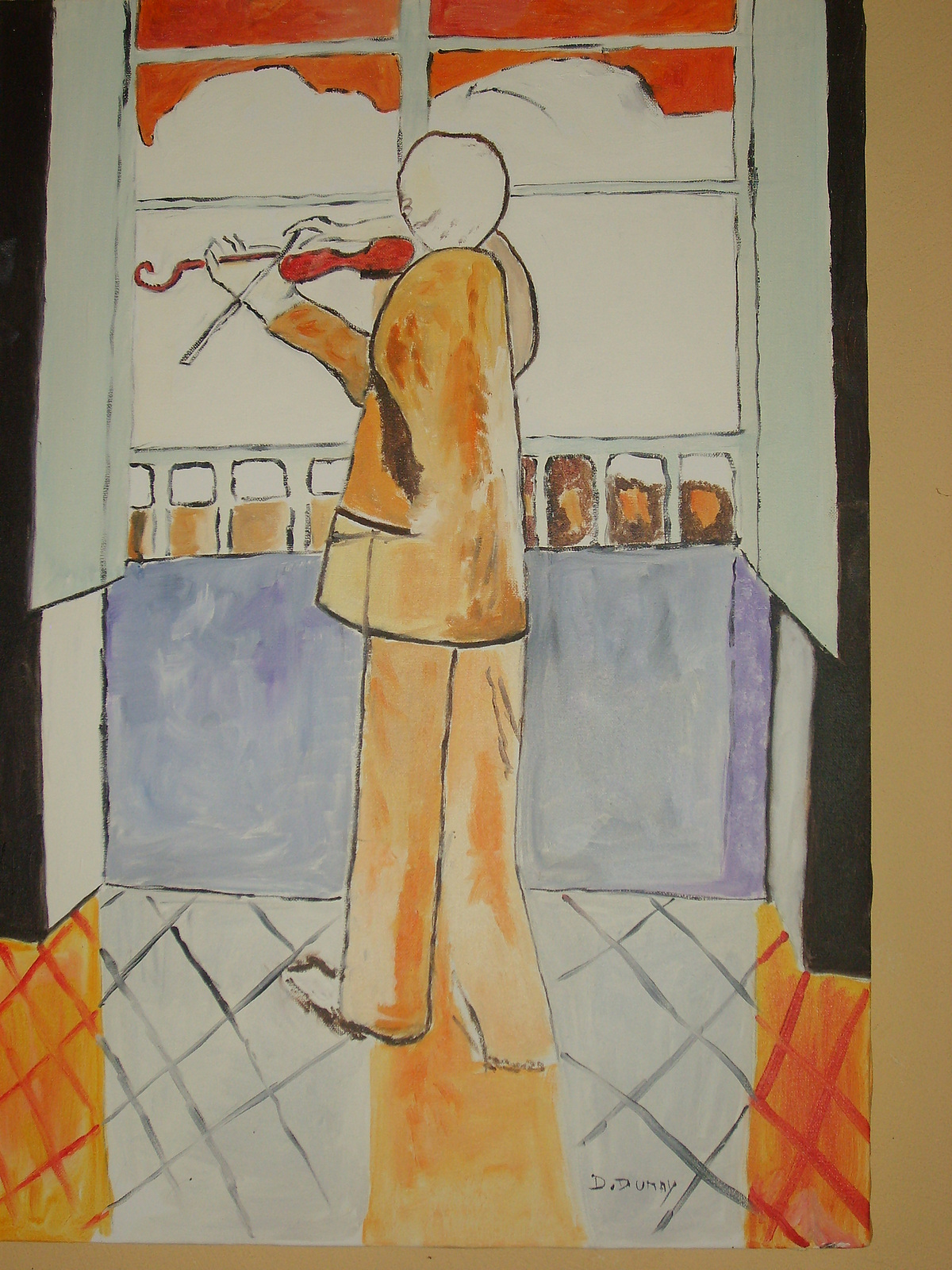 Notre bvc matisse paires et s ries 6 avril 2012 for Le violoniste a la fenetre henri matisse