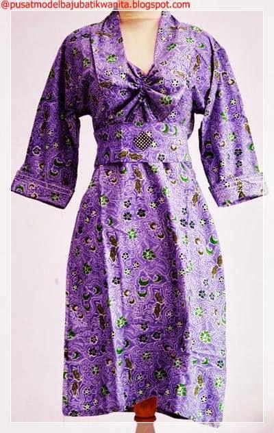 Model Baju Batik untuk Wanita: Model Baju Batik Kantor untuk Wanita ...