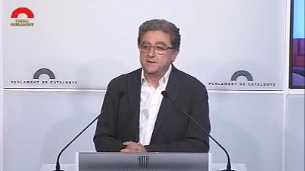 Roda de premsa valoració Debat Política General Catalunya