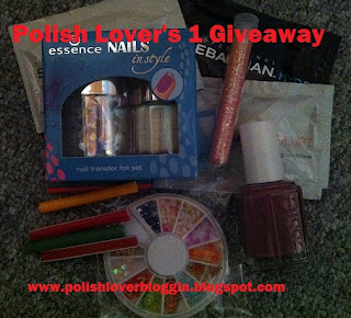 Give away nailpolishes