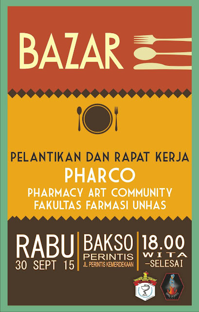 [Agenda] Bazar Pelantikan dan Rapat Kerja Pharco