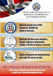 Consulado General Dominicano ante el Reino de España