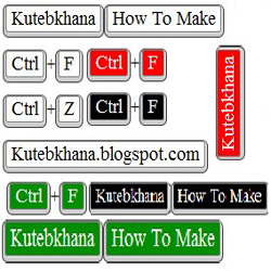 How to make CSS3 keyboard like text effect in blogger