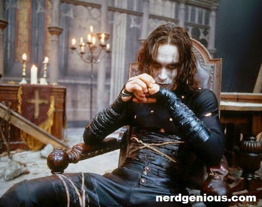 Brandon Lee died after gun accident on the set of Alex Proyas's action revenge film The Crow
