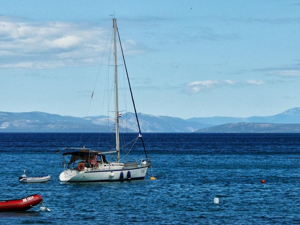 Chorwacja kwatery wrzesień z basenem przy morzu karwia