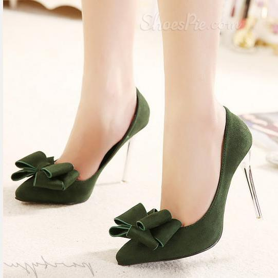 Shoespie Pretty Bowknot Decoration Stiletto Heels