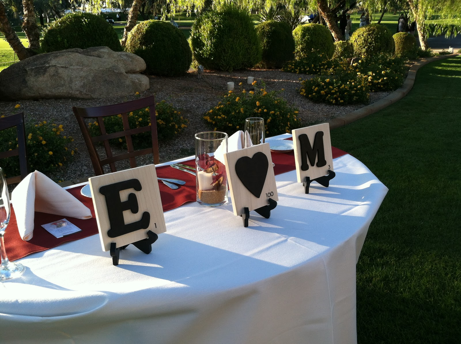 scrabble love simply beautiful weddings and events