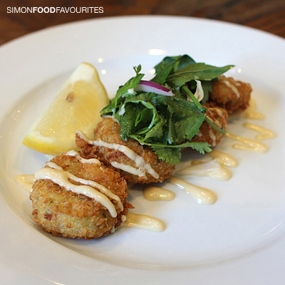 Fish Cakes House made fish cakes with coriander, parsley mint & ponzu ...