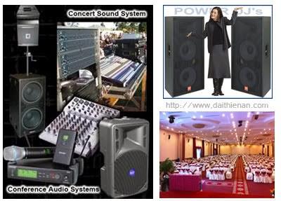 2. Lắp đặt âm thanh văn phòng, hội trường