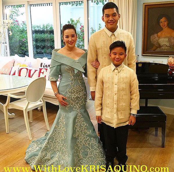 Kris Aquino SONA 2015