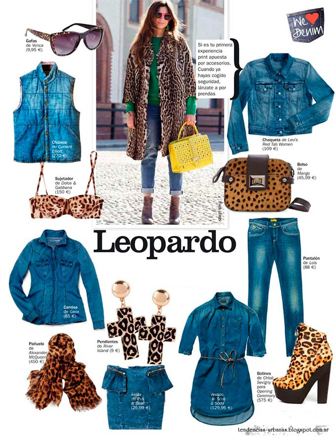 look animal print verano 2013