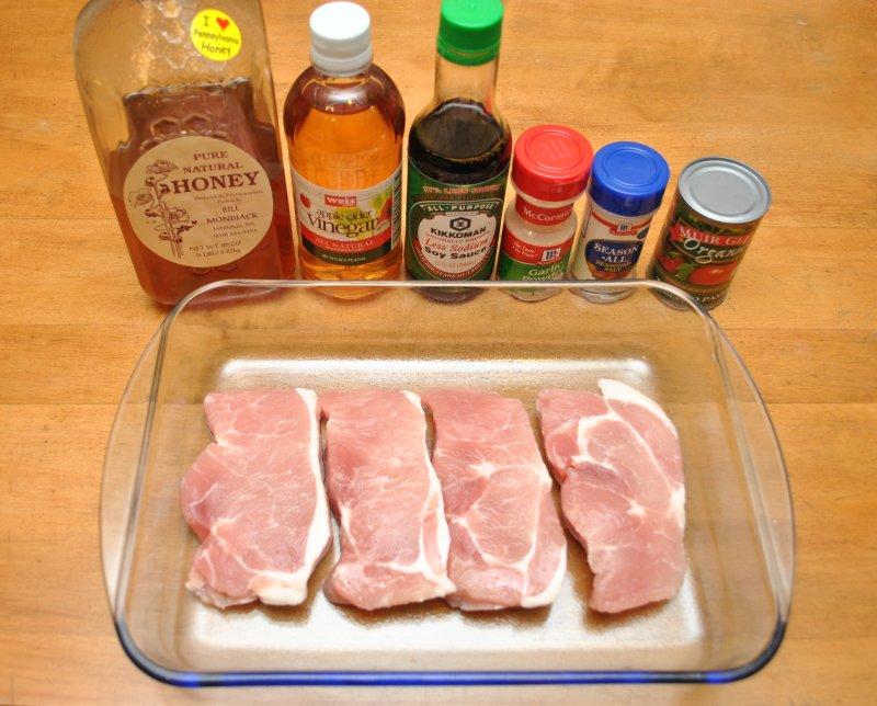 Saucy Baked Pork Chops