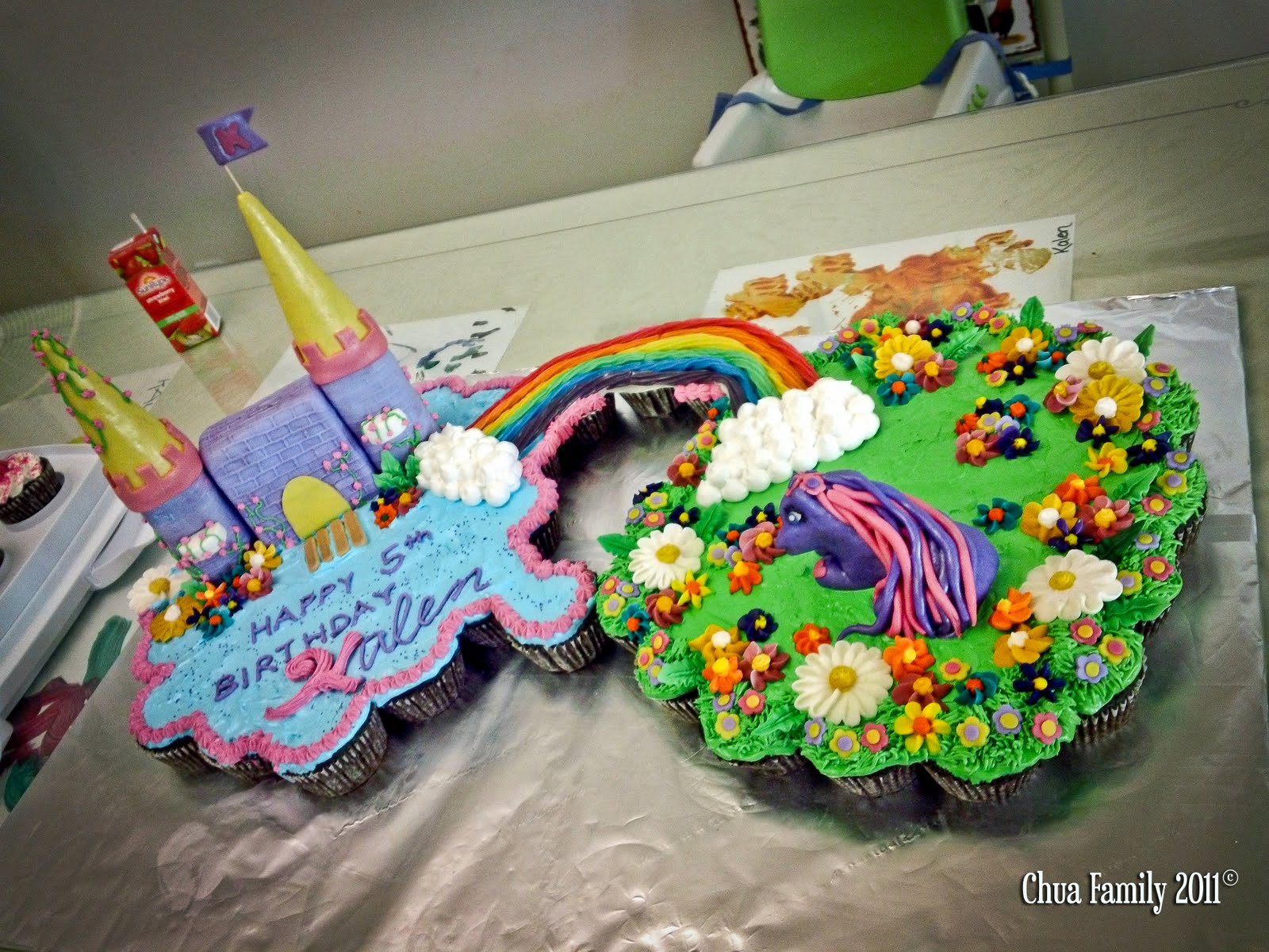 my Little Pony Friendship is Magic Cake my Little Pony 5th Magical