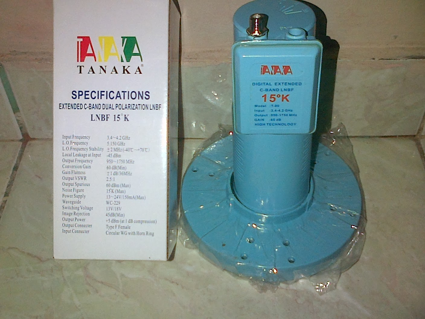 LNB TANAKA C-BAND SINGLE