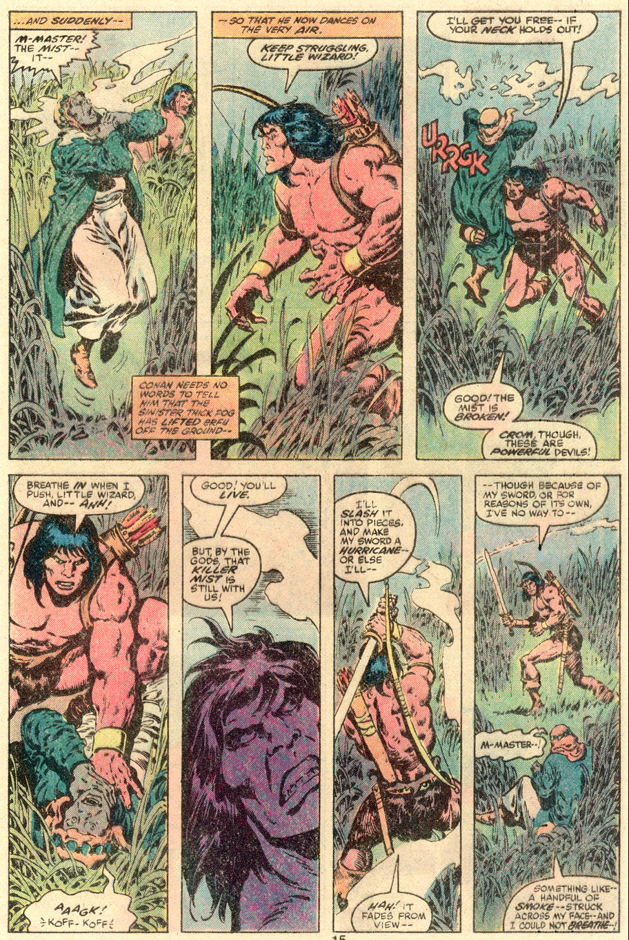 Conan the Barbarian (1970) Issue #109 #121 - English 10