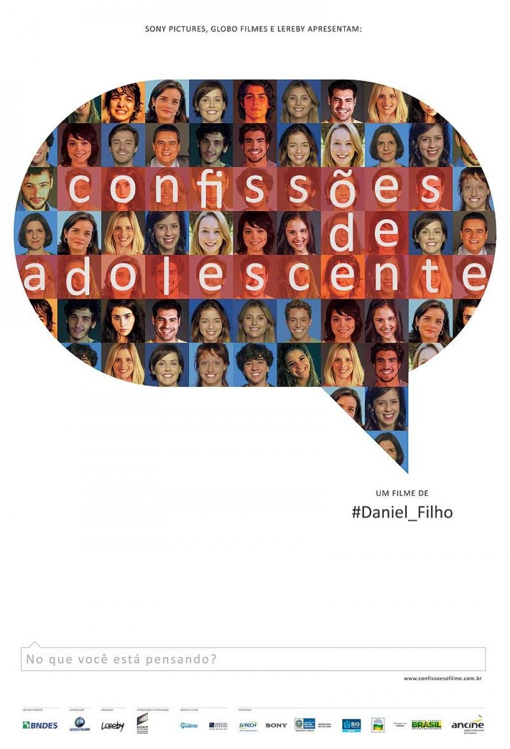 Pôster/capa/cartaz de CONFISSÕES DE ADOLESCENTE