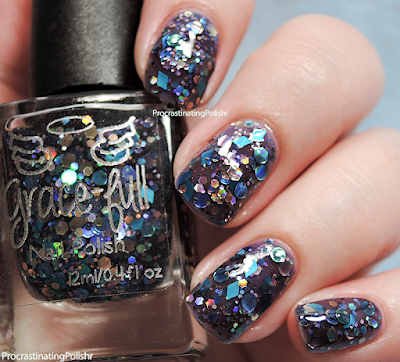 Grace-full Nail Polish - Gandalf's Fireworks