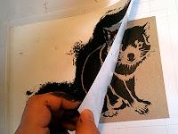 tasmanian devil stencil