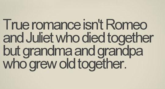 True Romance Quote