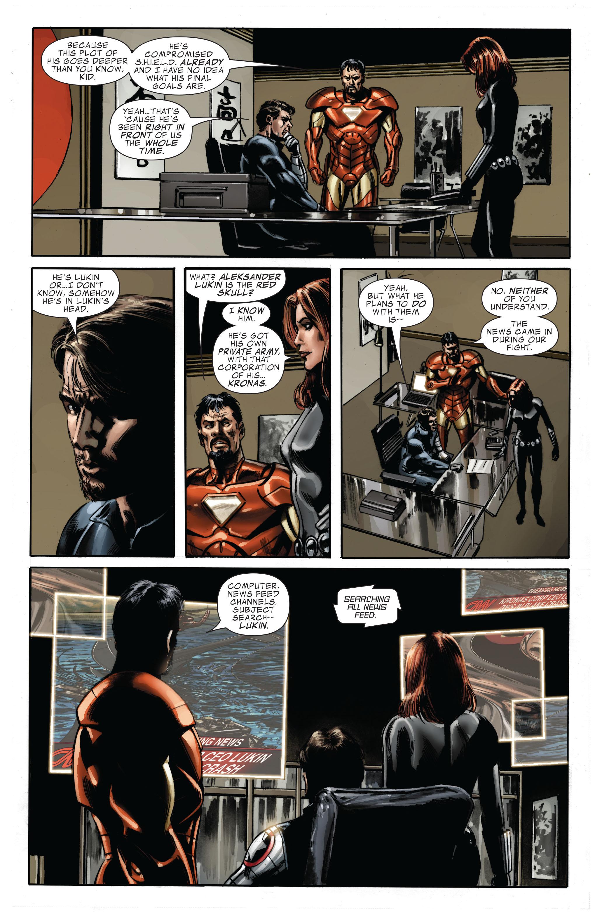 Captain America (2005) Issue #33 #33 - English 21