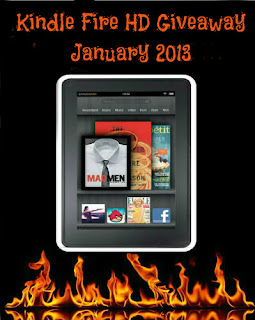 January Authors Kindle Fire Blogger Prizes