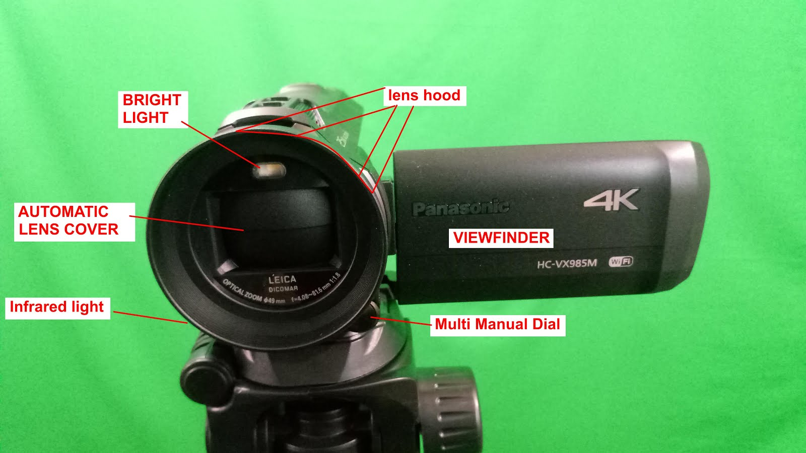 Accessories For Hc Vx985m According To English Product Manual