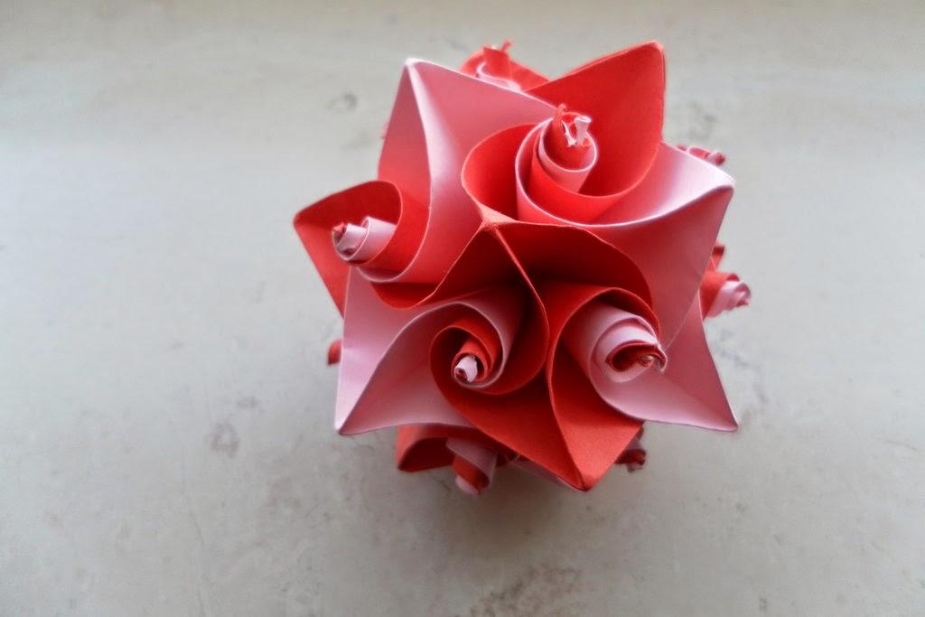 valentines origami