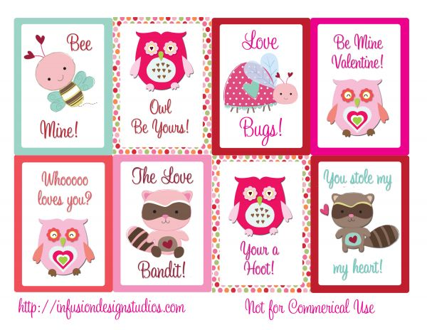 Gadget info for you free printable valentines day cards for Designs for valentine cards