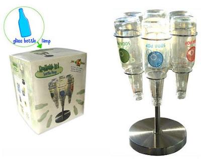 Lampara para Reciclar Botellas de Cristal