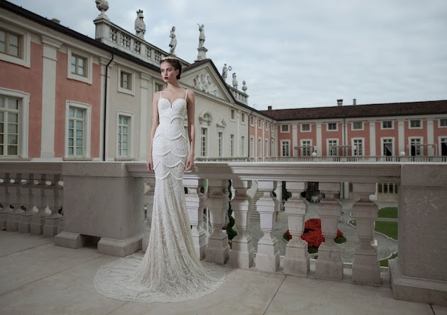 Wedding bell wednesday berta bridal winter 2014 collection part
