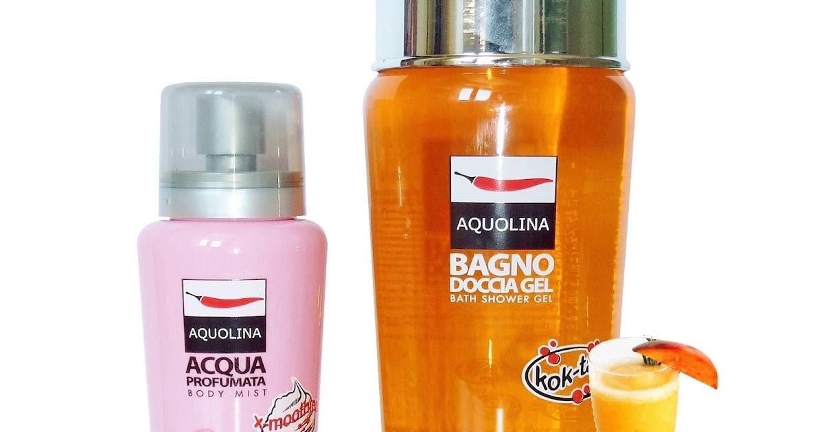 Bagno Doccia Aquolina : Aquolina doccia gel della linea cok tail e acqua profumata della